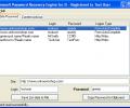 Password Recovery Engine for Internet Explorer Screenshot 0