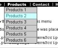 Active DHTML Drop Down JavaScript Menu Screenshot 0