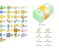 Money Icon Set Screenshot 0