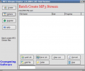 MP3 Stream Creator Screenshot 0