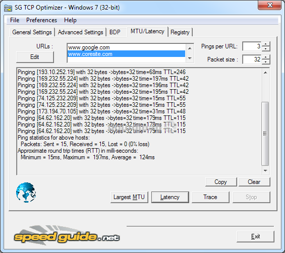 Download TCPOptimizer.exe Free - TCP Optimizer 4.0.6 install file
