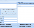 MS Word Extract Data & Text From Multiple Documents Software Screenshot 0