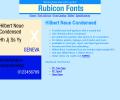 Hilbert Neue Condensed Font Type1 Screenshot 0