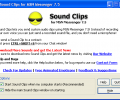 Sound Clips for MSN Messenger Screenshot 0