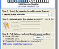 USB Remote Drive Disabler Screenshot 0