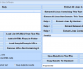 Extract Data & Text From Multiple Web Sites Software Screenshot 0
