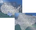 U.S. Map in Flash Screenshot 0