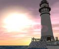 Lighthouse 3D screensaver Screenshot 0