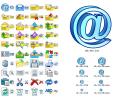 Email Icon Set Screenshot 0