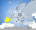 Interactive Flash Map of Europe Screenshot 0