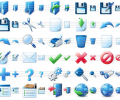 Blue Icon Library Screenshot 0