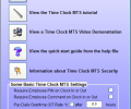 Time Clock MTS Screenshot 1