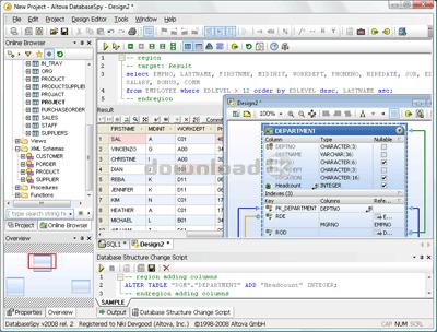 Altova DatabaseSpy Enterprise Edition 2019r3sp1 Quick review