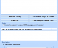 PDF Change Title, Subject, Author, Keywords, Dates In Multiple Files Software Screenshot 0