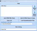 Join Multiple HTML Files Into One Software Screenshot 0