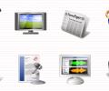 Multimedia Icons Vista Screenshot 0