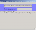 Password Recovery for Corel Paradox Screenshot 0