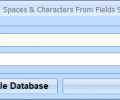 MS Access Remove Text, Spaces & Characters From Fields Software Screenshot 0