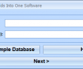 MS Access Merge Fields Into One Software Screenshot 0