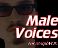 Male Voices - MorphVOX Add-on Screenshot 0