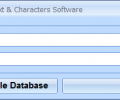 MS Access Add Data, Text & Characters Software Screenshot 0