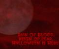 Rain Of Blood Halloween Wallpaper Screenshot 0