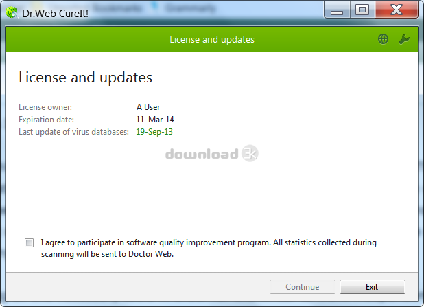 dr web cureit download