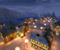 Winter Night 3D Screensaver Screenshot 0