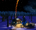 Christmas Night 3D ScreenSaver Screenshot 0