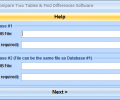 MS Access Compare Two Tables & Find Differences Software Screenshot 0