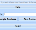 FoxPro Remove Text, Spaces & Characters From Fields Software Screenshot 0