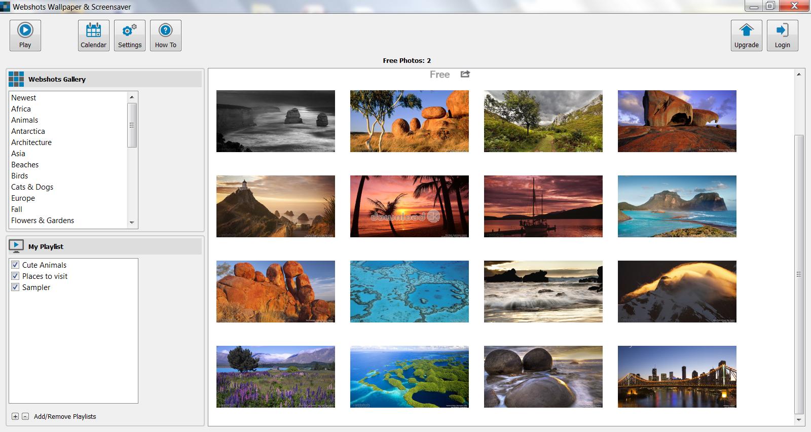 webshots desktop 2012