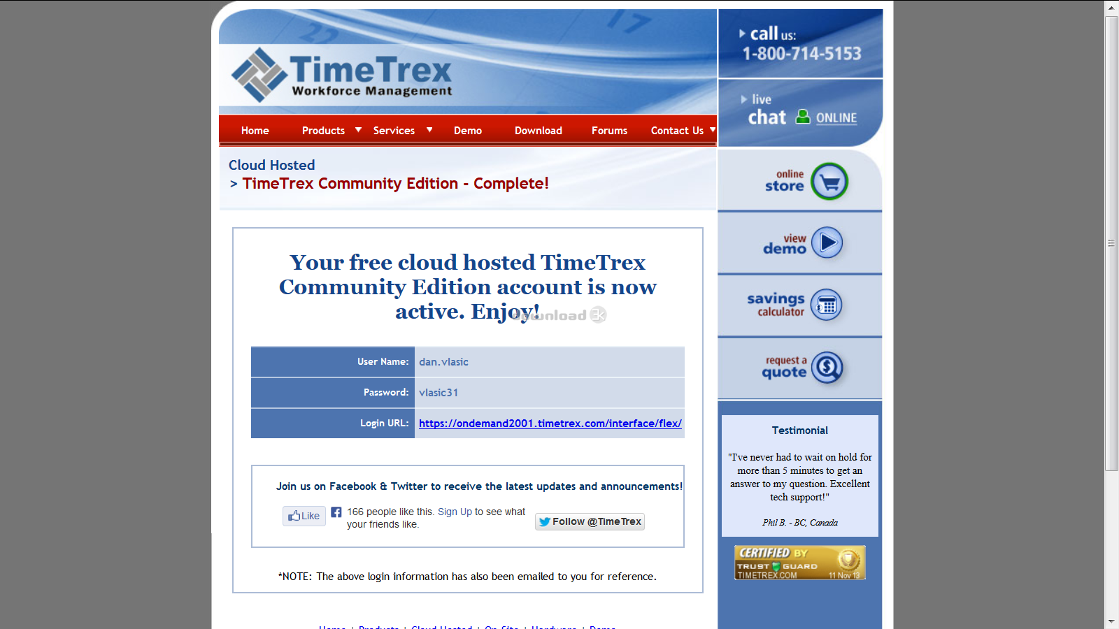 timetrex time and attendance 11 6 0
