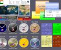 Sharp World Clock Screenshot 0