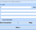 MS SQL Server Compare Two Tables Software Screenshot 0