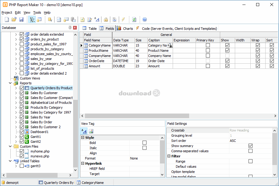 Antivirus report for phprptmkr exe - PHP Report Maker 12 0 7