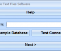 FoxPro Import Multiple Text Files Software Screenshot 0
