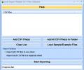 Excel Import Multiple CSV Files Software Screenshot 0
