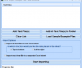 Excel Import Multiple Text Files Software Screenshot 0