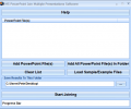 MS PowerPoint Join Multiple Presentations Software Screenshot 0