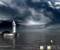 Majestic Lighthouse Screensaver Screenshot 0