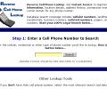 800 Number Reverse Lookup Search Tool Screenshot 0