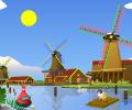 Windy Mill Clock ScreenSaver Screenshot 0