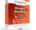 X-Cart Google SiteMap Screenshot 0