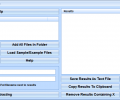 Extract Data Between Two Strings Software Screenshot 0