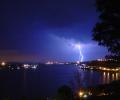 Awing Pictures of Lightning Screensaver Screenshot 0
