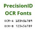 OCR-A and OCR-B Fonts by PrecisionID Screenshot 0