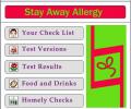 Stay Away Alergies Software Screenshot 0