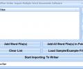 OpenOffice Writer Import Multiple Word Documents Software Screenshot 0