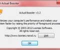 Actual Booster Screenshot 1